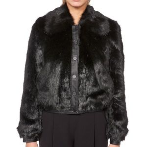 Size Small Shearling Bomber Jacket